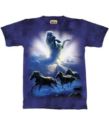 Wild Spirit - Horses Shirt the Mountain