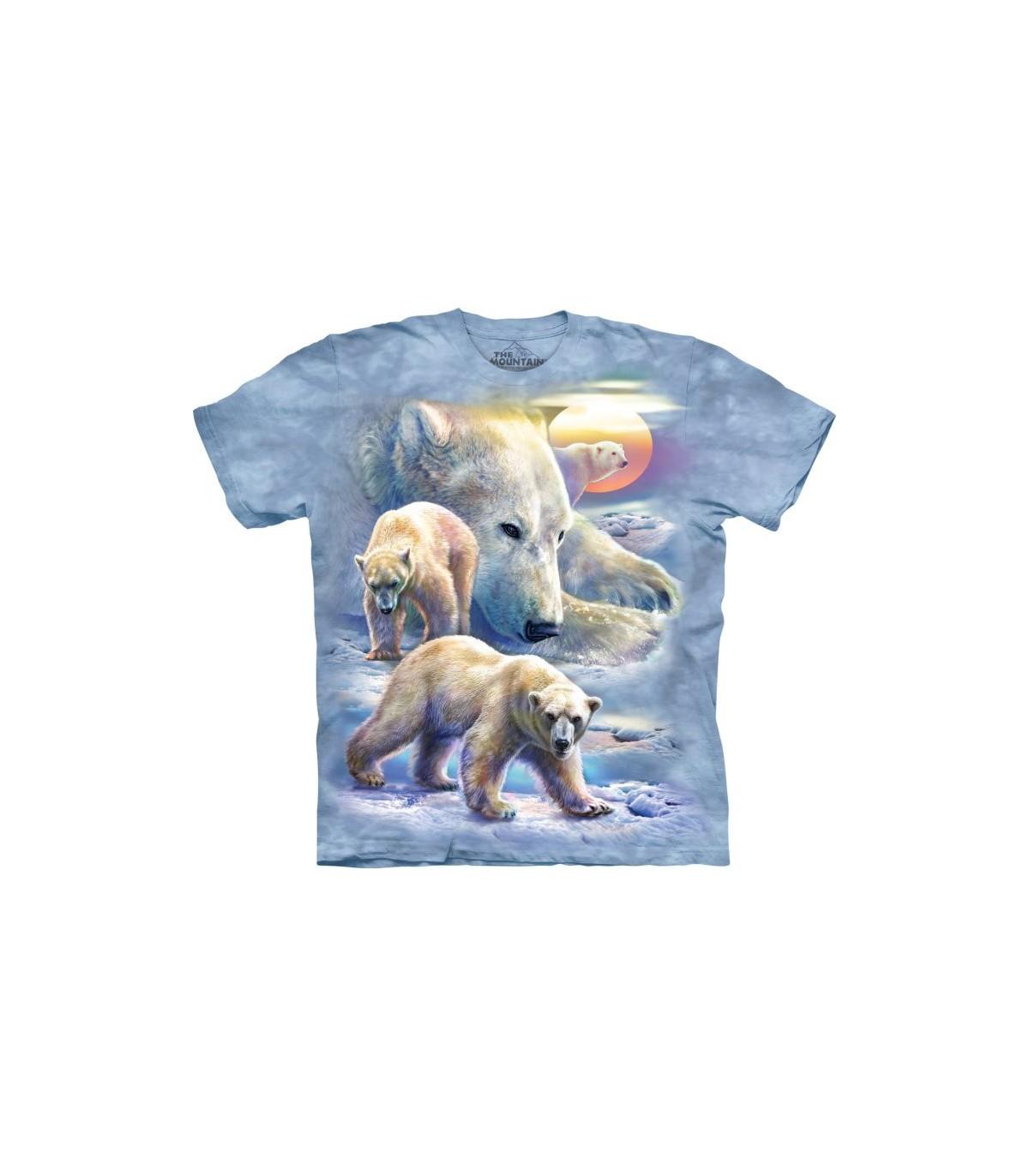 Ours Shirt Et T The Mountain Enfant Polaire Adulte Unisexe O8nvmwN0