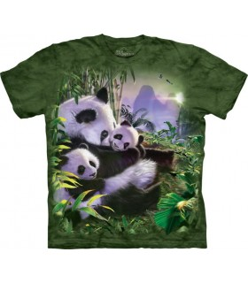 T-shirt Pandas The Mountain