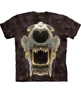 Sabertooth Skull T Shirt