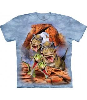 Dino Selfie T Shirt