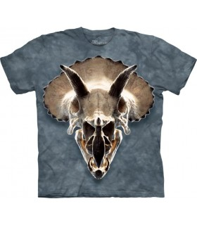 T-shirt Crâne de Triceratops The Mountain