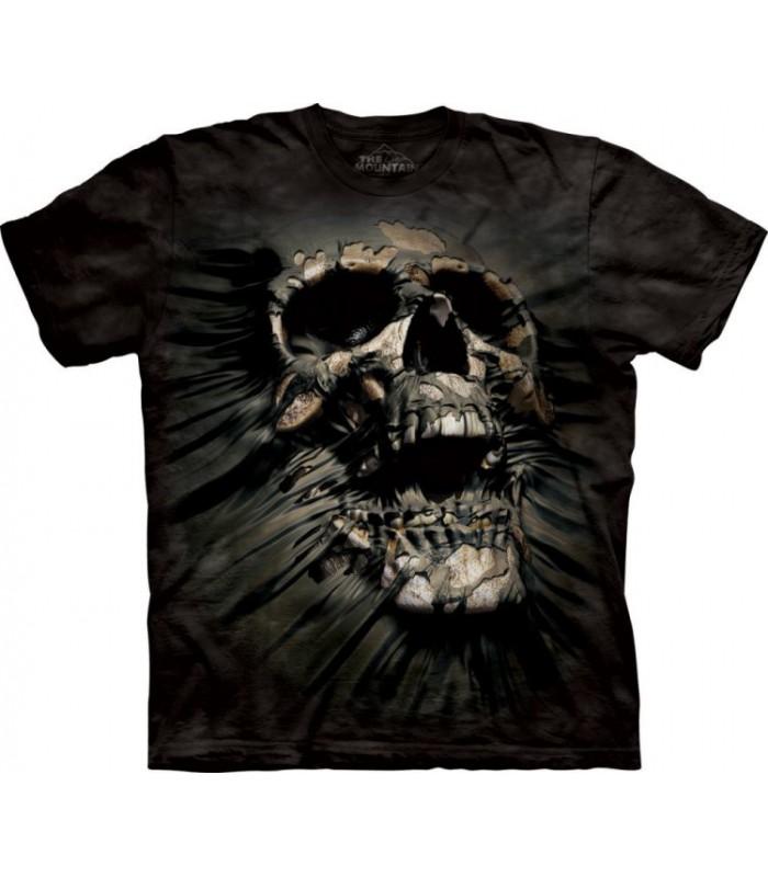 T-Shirt Crâne Percé par The Mountain