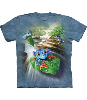 T-shirt Grenouilles The Mountain