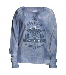 Calling Womens Outdoor Adventure Slouchy Crew