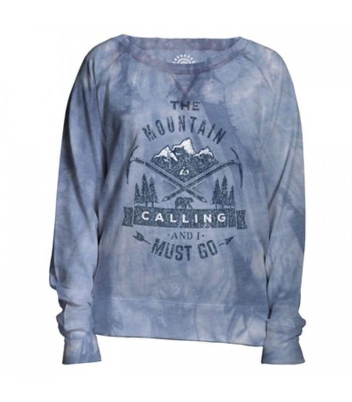 Sweat-shirt Aventure pour femme The Mountain