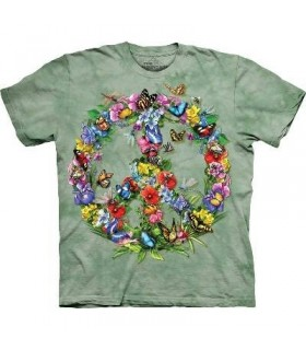 T-Shirt Butiner en paix par The Mountain