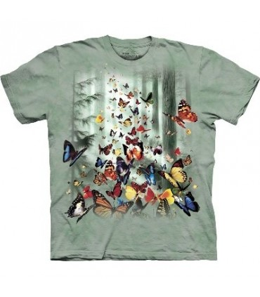 T-Shirt Papillons par The Mountain