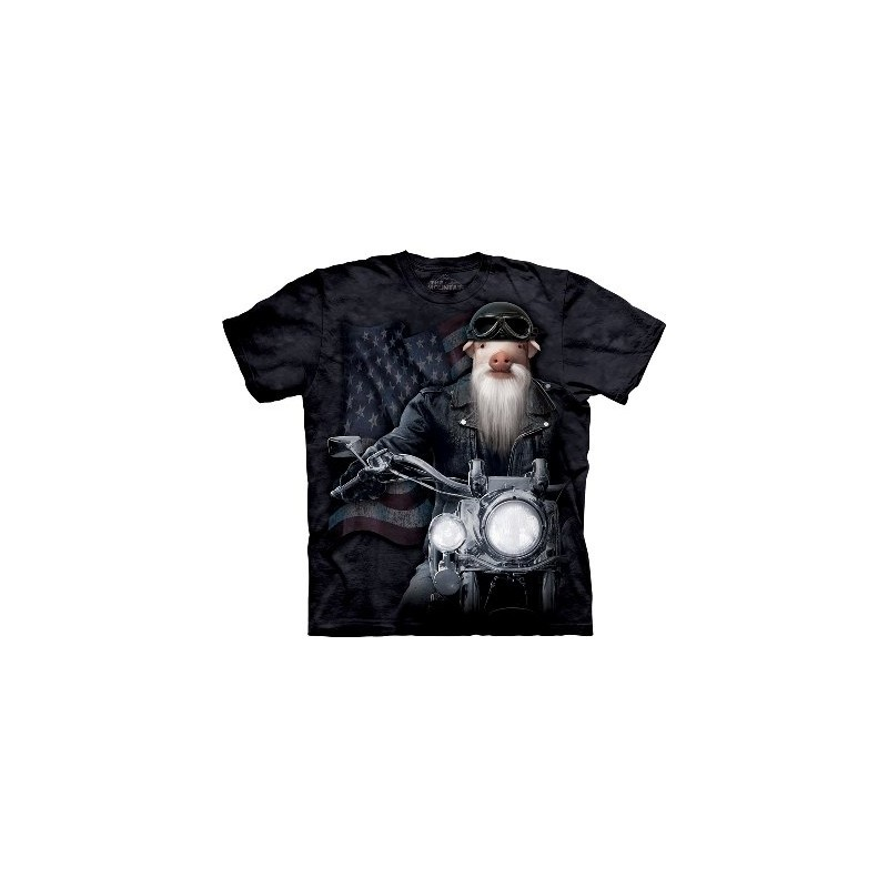 Biker Sam The Mountain T-shirt