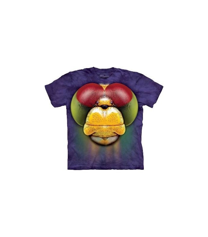 Dragonfly Face - Insect T Shirt Mountain
