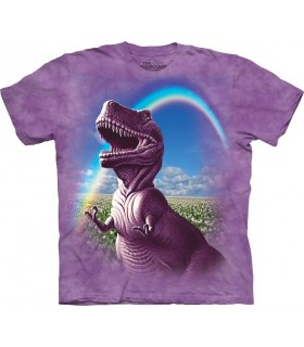 T-shirt Dinosaure Heureux The Mountain