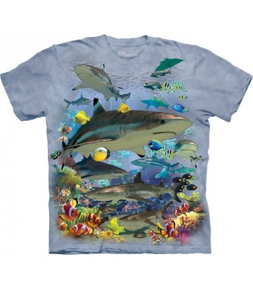 T-shirt Requins The Mountain