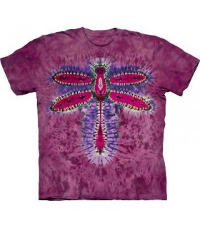 T-Shirt Libellule Tie-Dye par The Mountain