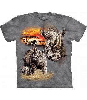 T-shirt Rhinocéros The Mountain