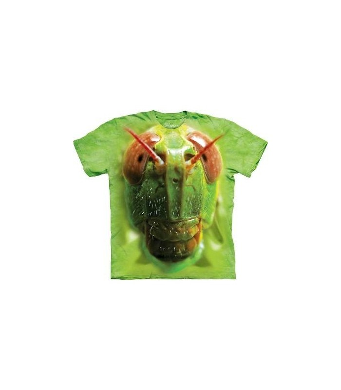 Grasshopper Face - Insect T Shirt Mountain