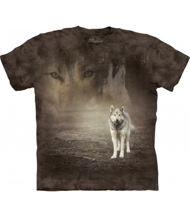Loup Gris - T-shirt Loup The Mountain