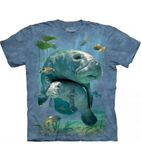 Manatees Collage T Shirt