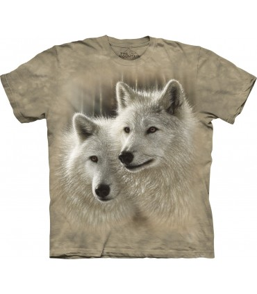 Âmes Sœurs - T-shirt Loup The Mountain