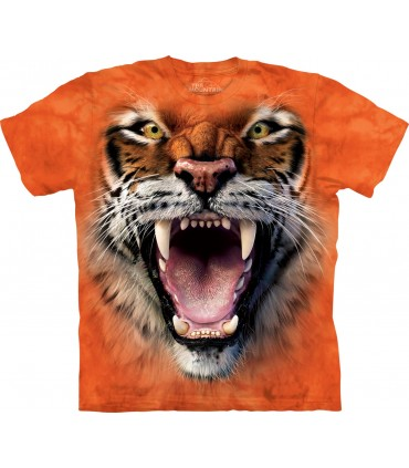T-shirt Tigre Rugissant The Mountain