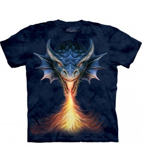 Respire le Feu - T-shirt Dragon The Mountain