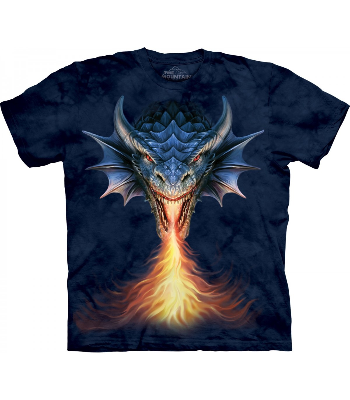 The Mountain Child Fire Breather Anne Stokes Dragon T Shirt