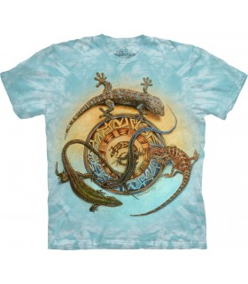 T-shirt Geckos The Mountain