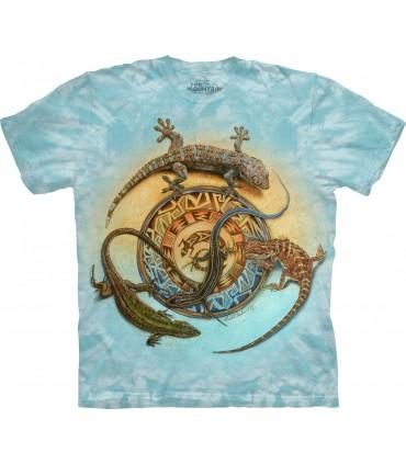 T-shirt Geckos The Mountain