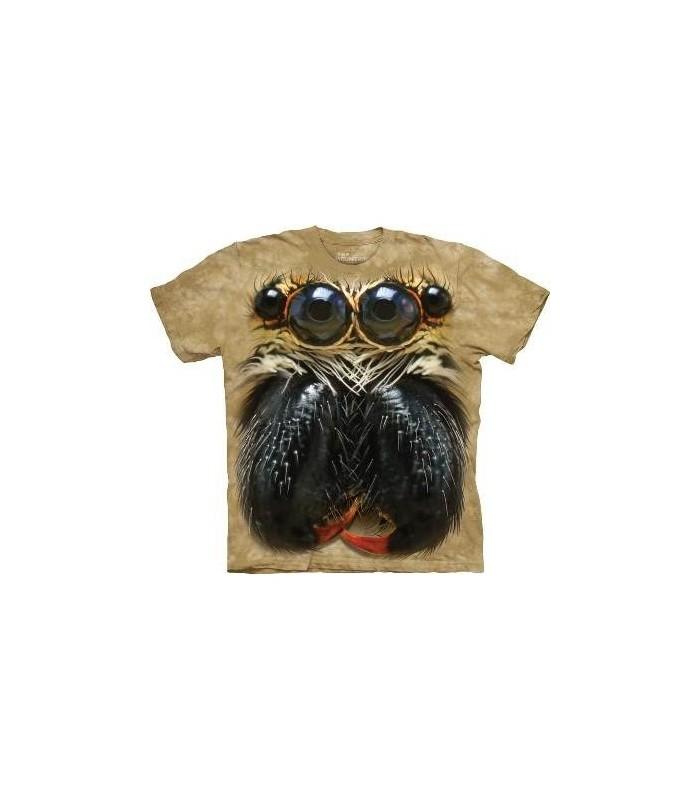 T-Shirt araignée sauteuse par The Mountain