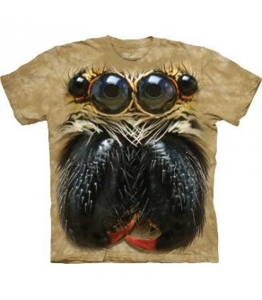 Jumping Spider Face - Spider T Shirt Mountain