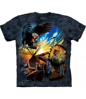 T-shirt Aigle The Mountain