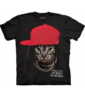 Cat Money Billionaires T Shirt