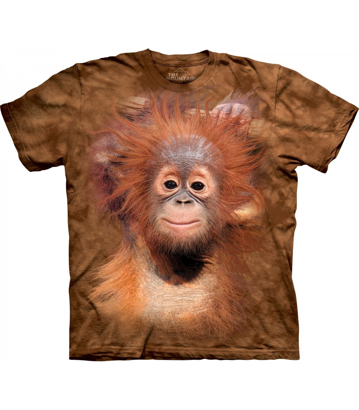 "The Mountain T-Shirt /""Orangutan Hanging/"""