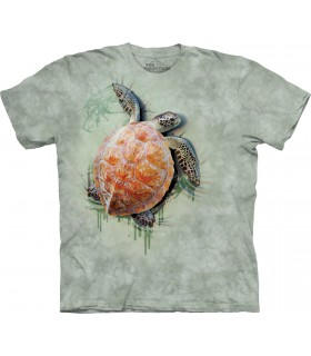 Sea Turtle Climb T Shirt