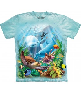 Vie Marine - T-shirt aquatique The Mountain