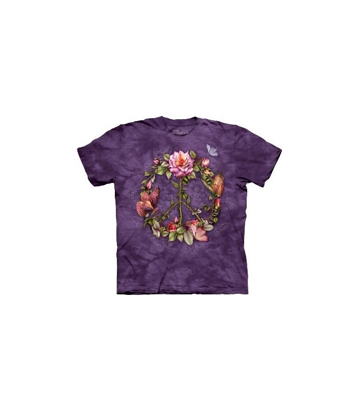 T-Shirt Roses de la Paix par The Mountain