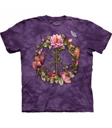 Peace Roses - Butterfly Shirt Mountain