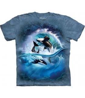 Orca Waves T Shirt