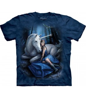Lune Bleue - T-shirt Licorne The Mountain