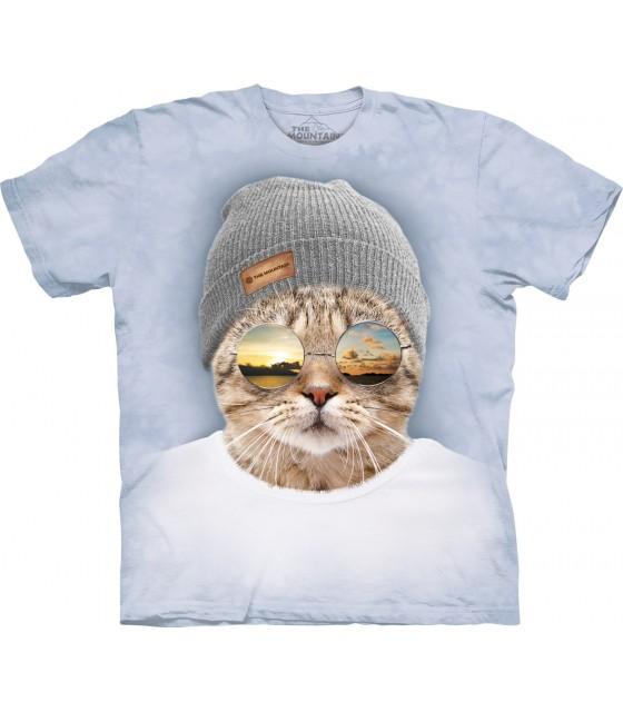 La montagne Unisexe Adulte CAT Argent milliardaires T Shirt