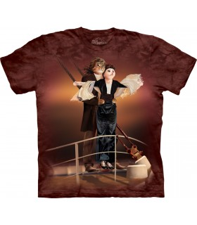 Titanic Cats T Shirt