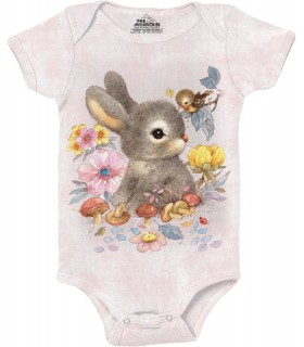 Baby Bunny Animal Babygrow