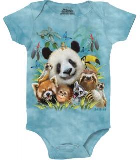 Zoo Selfie Babygrow