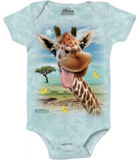 Babygro Selfie de Girafe The Mountain