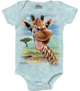 Babygro Selfie de Girafe The Mountain
