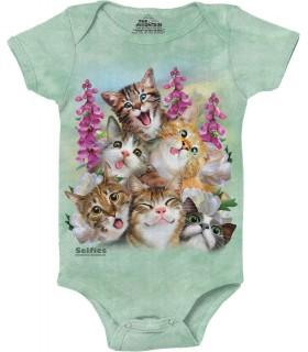 Kittens Selfie Babygrow