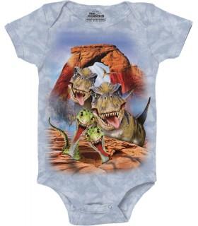 Dino Selfie Dinosaur Babygrow