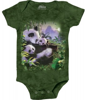 Babygro Panda The Mountain
