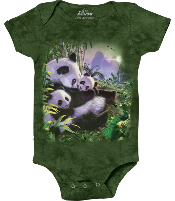 Panda Cuddle Animal Babygrow