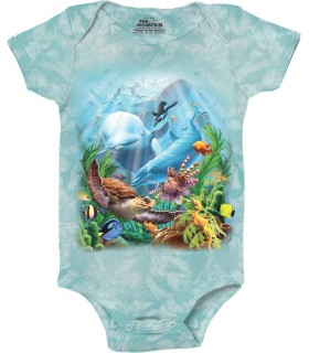 Babygro Aquatique The Mountain