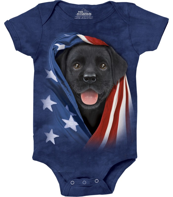 Babygro Labradoir Noir The Mountain